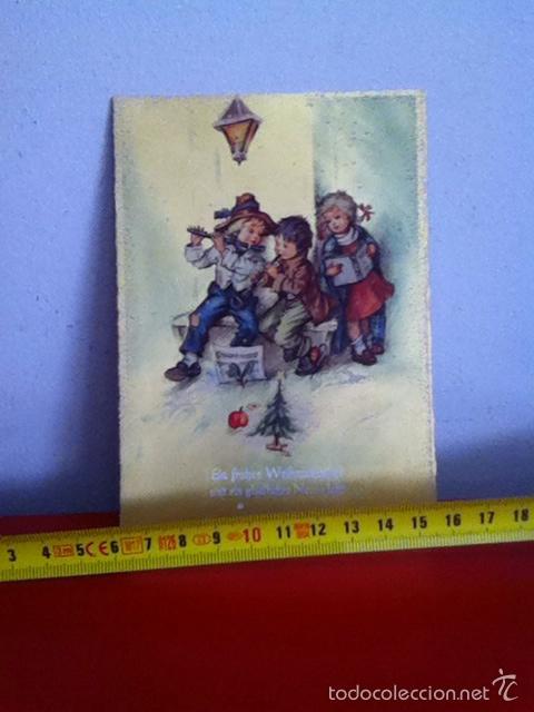 POSTAL NAVIDAD( AUSTRIA AÑOS 50)SENCILLA 15X10CM (Postales - Postales Temáticas - Navidad)