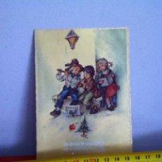 Postales: POSTAL NAVIDAD( AUSTRIA AÑOS 50)SENCILLA 15X10CM. Lote 169672460