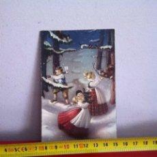 Postales: POSTAL NAVIDAD SENCILLA ( AÑOS 50) 13X8CM. Lote 169674604