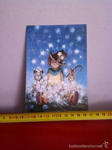 FERRANDIZ( AÑOS 60) POSTAL NAVIDAD DIPTICO 17X11 CM (Postales - Postales Temáticas - Navidad)