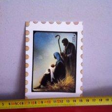 Postales: POSTAL NAVIDAD DIPTICO ( AÑOS 60) 14X10 CM. Lote 169675552