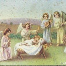 Postales: POSTAL NAVIDAD - NIÑO JESÚS RODEADO DE ÁNGELES . Lote 170772215