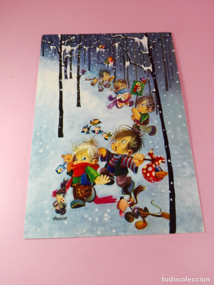 Postales: Posta-Felicitación-(Navidad?)-1960-CyZ-Impoluta-Antigua-ver fotos - Foto 5 - 170987867