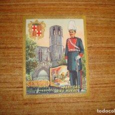 Postales: (ALB-TC-103) FELICITACION EL SERENO. Lote 170992103