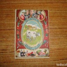 Postales: (ALB-TC-103) FELICITACION EL LECHERO. Lote 170992129