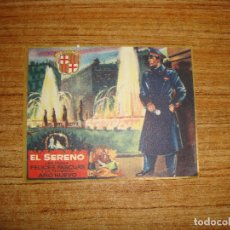 Postales: (ALB-TC-103) FELICITACION EL SERENO. Lote 170992154