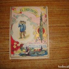 Postales: (ALB-TC-103) FELICITACION EL TABERNERO. Lote 170992163
