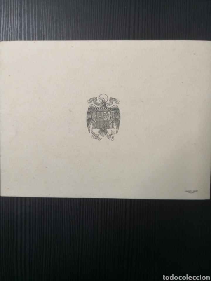 Postales: Postal Navideña de la Univ. De Salamanca. 1946 - Foto 3 - 170992285