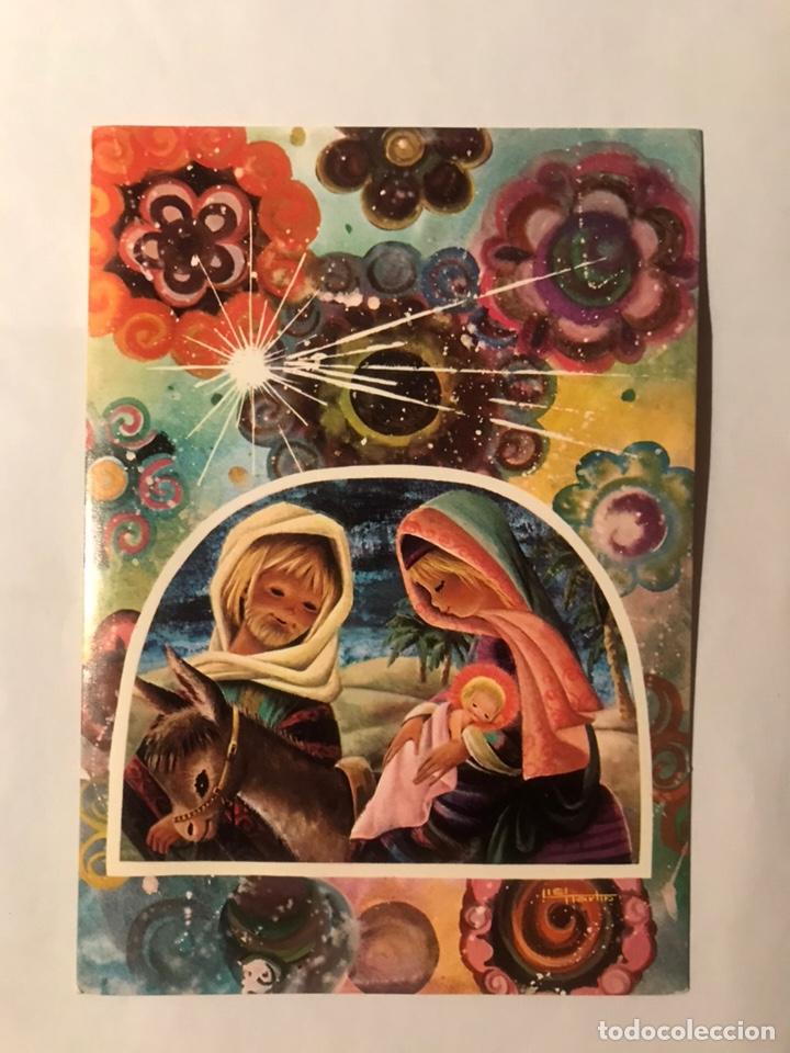 POSTAL DÍPTICA NO ESCRITA LISI MARTIN EDICIONES RENI NÚMERO 92-2 (Postales - Postales Temáticas - Navidad)