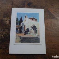 Postales: FELICITACION DE NAVIDAD, EN INGLES, GRECIA, PAISAJE. Lote 171586038