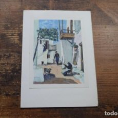Postales: FELICITACION DE NAVIDAD, EN INGLES, GRECIA, PAISAJE. Lote 171586103