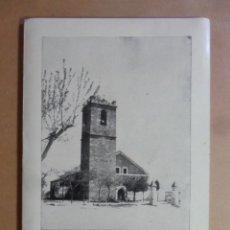 Postales: TARJETA, FELICITACION NAVIDEÑA-GAMONAL (TOLEDO)-IGLESIA PARROQUIAL NTRA SRA DE LA PURIFICACION- 1961. Lote 171730278