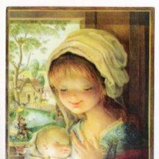 Postales: POSTAL DIPTICO - ILUSTRACION FERRÀNDIZ - 1832-2 EDITA SUD (17CM X 11,5CM). Lote 172259088