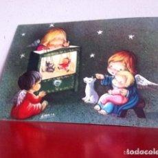 Postales: POSTAL AÑOS 60 ( DIPTICO ) AMPARO. 17X12 CM. Lote 173082732