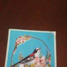 Postales: ANTIGUA FELICITACION NAVIDAD CON PURPURINA ,ESTA ESCRITA Y FECHADAEN ENERO DE 1960. Lote 173577528