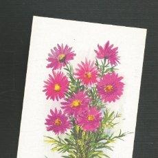 Postales: FELICITACION NAVIDAD SIN CIRCULAR EDITA ARTIS MUTI 1349 FLORES ALPINAS. Lote 173683159
