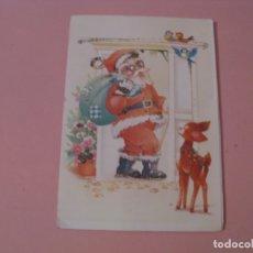Postales: POSTAL TROQUELADA DE NAVIDAD. ED. SUBI. Nº 39607-2. ESCRITA.. Lote 174043814