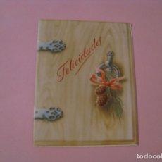Postales: POSTAL DE NAVIDAD DE VARIAS PAGINAS. ED. J. B. SIN CIRCULAR.. Lote 174043948
