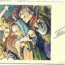 Postales: P182 - FERRÁNDIZ - EN EL PORTAL DE BELEN - Nº 308 - 10,5X6,5 CM. Lote 174181693