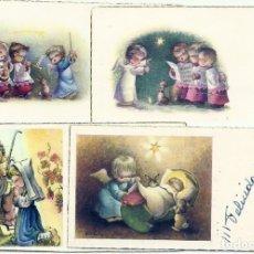 Postales: P183 - FERRÁNDIZ- LOTE DE 4 ANTIGUAS TARJETAS -EDIC. SUBI SERIES 402,404, 405 8X4 CM C/U(1959-61). Lote 174187489