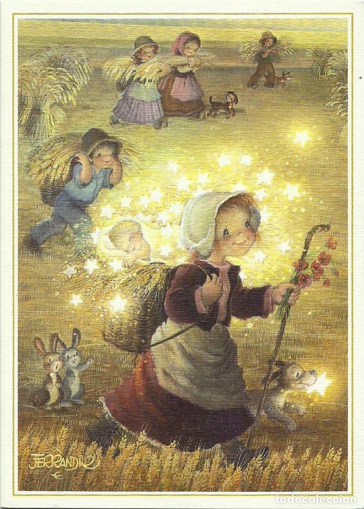 FERRÁNDIZ - EDICIONES SUBI A.2097.1- DIPTICA 14X10 CM - F36 (Postales - Postales Temáticas - Navidad)