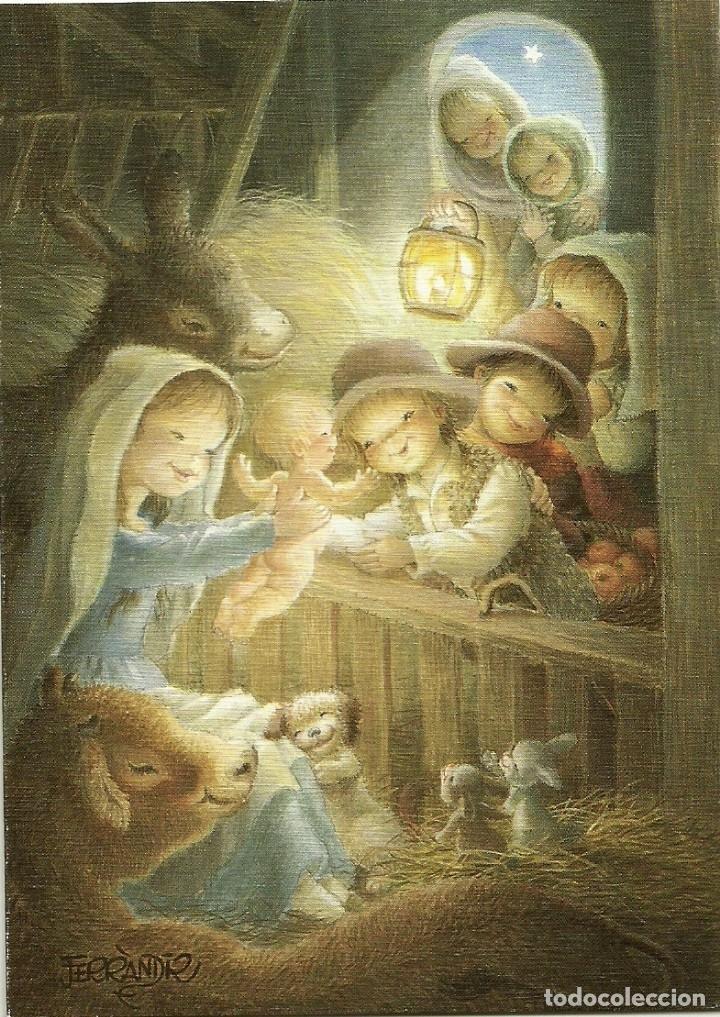 FERRÁNDIZ - EDICIONES SUBI A.2114.2- DIPTICA 14X10 CM - F38 (Postales - Postales Temáticas - Navidad)