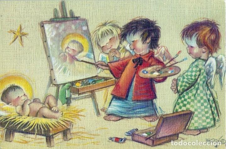 FERRÁNDIZ - EDICIONES SUBI S.1658.3- DIPTICA 13,8X9 CM - F44 (Postales - Postales Temáticas - Navidad)