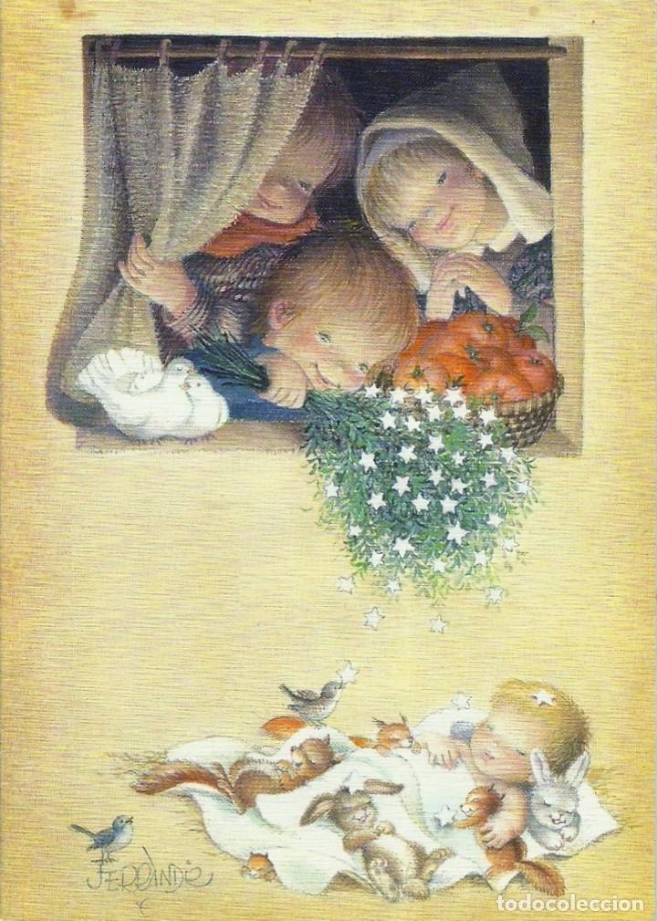 FERRÁNDIZ - EDICIONES SUBI A.2076.2- DIPTICA 14X10 CM - F51 (Postales - Postales Temáticas - Navidad)