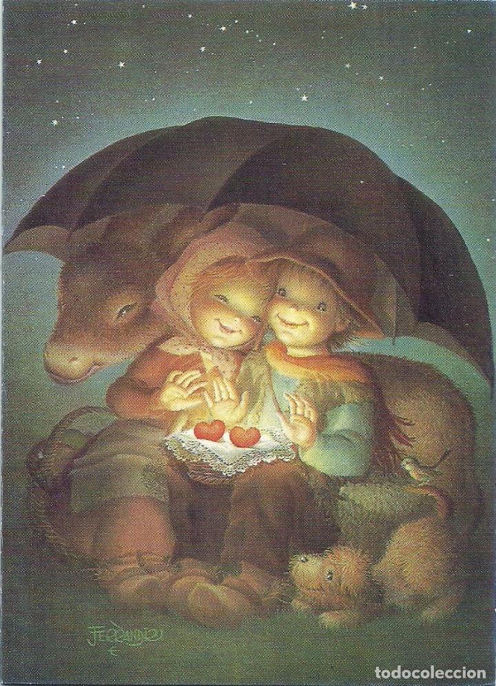 FERRÁNDIZ - EDICIONES SUBI A.2140.1- DIPTICA 14X10 CM - F55 (Postales - Postales Temáticas - Navidad)