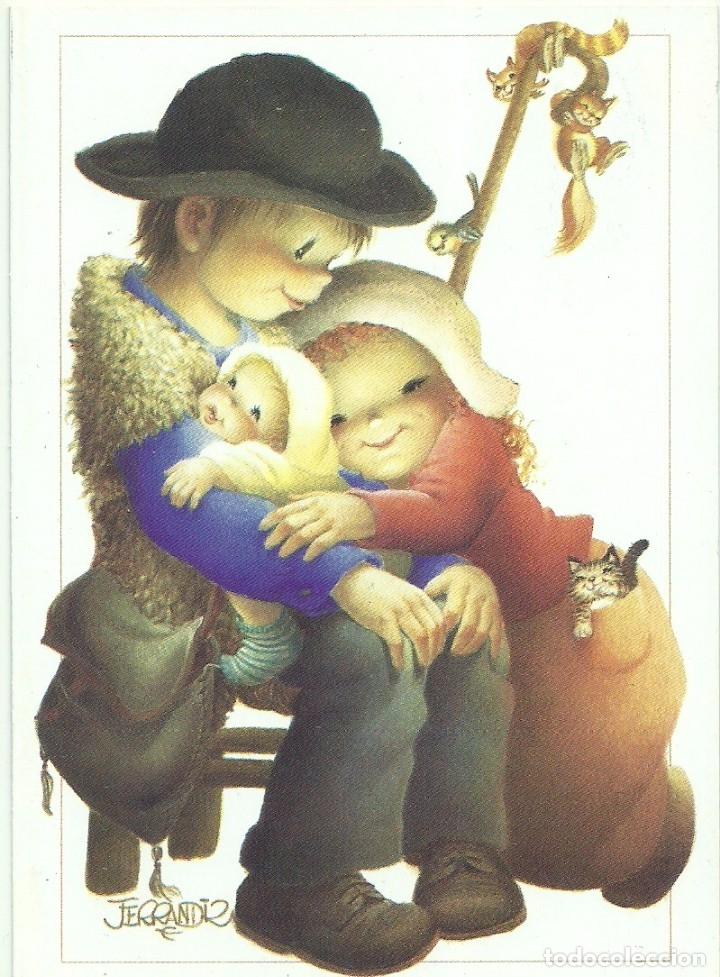 FERRÁNDIZ - EDICIONES SUBI A.2145.1- DIPTICA 14X10 CM - F57 (Postales - Postales Temáticas - Navidad)