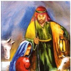 Postales: POSTAL NAVIDEÑA ASOCIACION DE PINTORES CON LA BOCA Y CON EL PIE E110. Lote 175108367