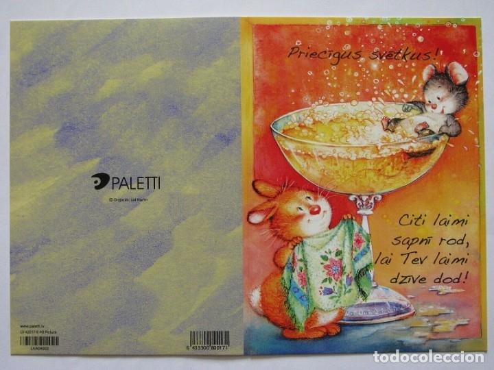 Postales: 0843Ñ - LISI MARTIN - PICTURA (PALETTI) - DIPTICA 15X10,5 CM - Foto 2 - 175717263