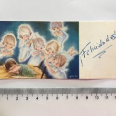 Postales: FELICITACIÓN NAVIDAD. ILUSTRACIÓN GALLARDA. NURIA. H. 1965?.. Lote 176837327