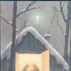 Postales: POSTAL NAVIDAD - NIÑO JESUS - PASTORES - ESTABLO. Lote 177655592
