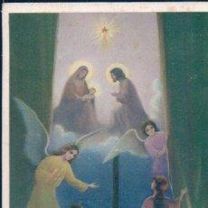 Postales: POSTAL NAVIDAD - NIÑO JESUS - ANGELES. Lote 177668177