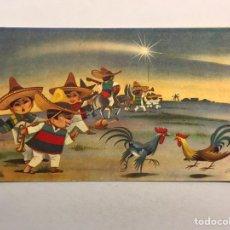 Postales: NAVIDAD. FELICITACIÓN NAVIDEÑA ILUSTRADA POR LICERAS, EDITA: CREACIÓNES GILE (A.1962). Lote 177892752