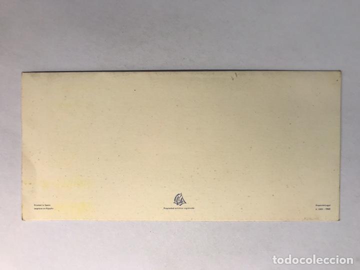 Postales: NAVIDAD. Felicitación Navideña Ilustrada por MATEU? , Edita: Creaciones Gile (a.1962) - Foto 2 - 177893955