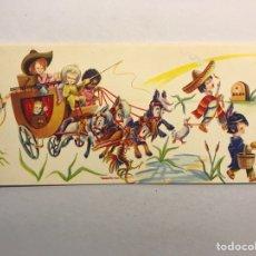 Postales: NAVIDAD. FELICITACIÓN NAVIDEÑA ILUSTRADA POR MATEU? , EDITA: CREACIONES GILE (A.1962). Lote 177894263