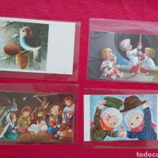 Postales: LOTE POSTALES NAVIDEÑAS AÑOS 70. Lote 178653252