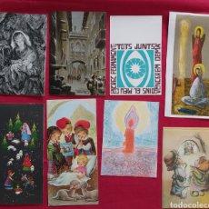 Postales: LOTE POSTALES NAVIDEÑAS AÑOS 70. Lote 178655208