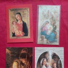 Postales: LOTE POSTALES NAVIDEÑAS DÍPTICOS AÑOS 80. Lote 178655532