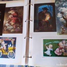 Postales: ALBUM CON FELICITACIONES I POSTALES FERRANDIZ. Lote 179056432