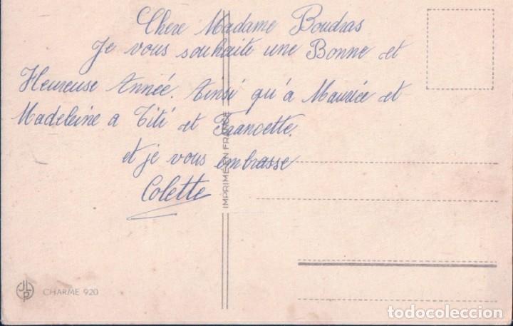 Postales: POSTAL NIÑOS JUGANDO EN LA NIEVE - FELIZ NAVIDAD - CHARME 920 - Foto 2 - 179073345