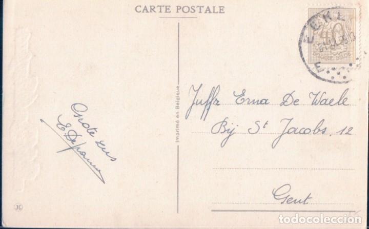 Postales: POSTAL PUESTO CASTAÑA - NIÑOS - CIRCULADA JC - Foto 2 - 179074828