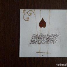 Postales: POSTAL DE FELICITACIÓN DE NAVIDAD DE PUBLICIDAD DE RESTAURANTE SES PORTADORES, PORTO COLOM. MALLORCA. Lote 179201242