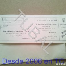Postales: TUBAL OSBORNE FELICITACION NAVIDAD 1986 ENVÍO 70 CENT 2019 B03. Lote 179538498