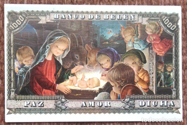 TARJETA DE NAVIDAD (Postales - Postales Temáticas - Navidad)