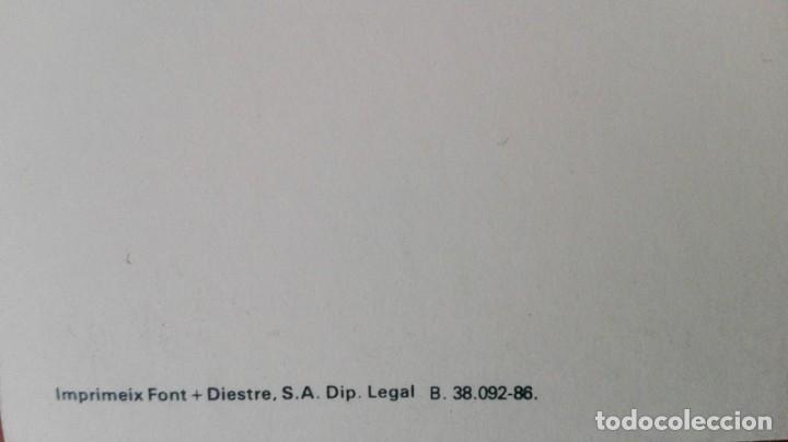 Postales: 0811L - OPISSO A. -FELICITACIÓN CAIXA DE BARCELONA -DIPTICA 20,5X14,5 CM - IMPRESO FONT + DIESTRE - Foto 5 - 180122312