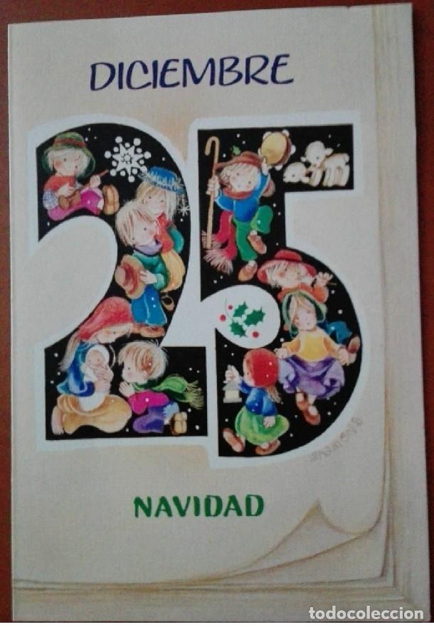 Postales: 0813L - SALMONS - EDICIONES SABADELL SERIE BETLEM 02.02.113.2 - DIPTICA 13X9 CM - Foto 2 - 180128913