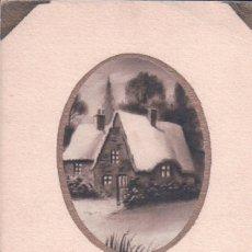 Postales: POSTAL NAVIDAD - CASA NEVADA - AÑO NUEVO . Lote 180226705